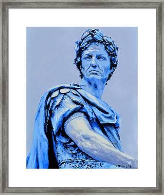 Julius Caesar Framed Print