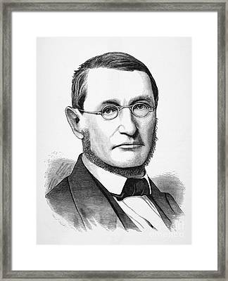 Julius Robert Von Mayer Framed Print by Granger