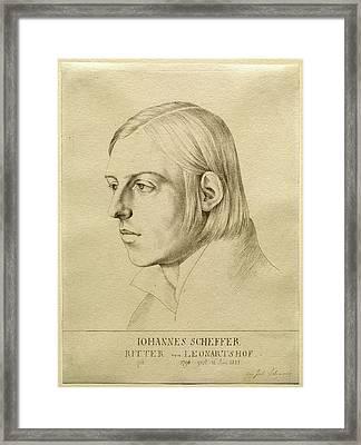 Julius Schnorr Von Carolsfeld, German 1794-1872 Framed Print by Litz Collection
