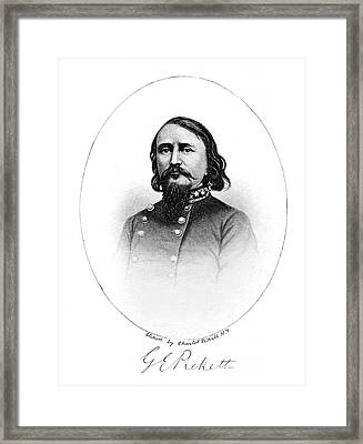 July 3, 1863 Csa General George Pickett Framed Print