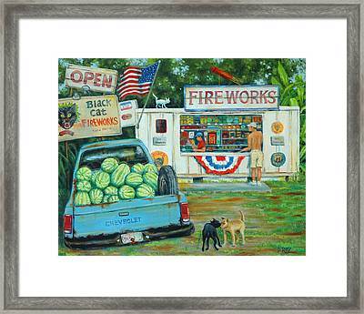 July 3rd South Carolina Framed Print by Dwain Ray