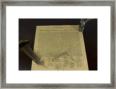 July 4 1776 Framed Print by Jack R Perry