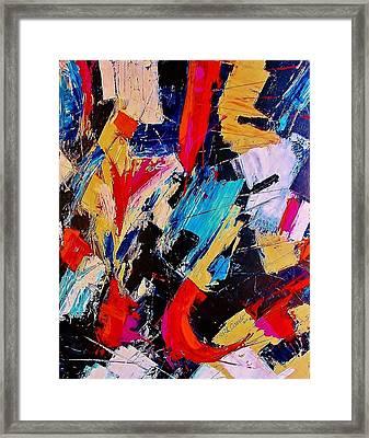 July 4 Framed Print by Lou Cicardo