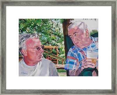 July 4th Picnic   Framed Print by Kay Bohren