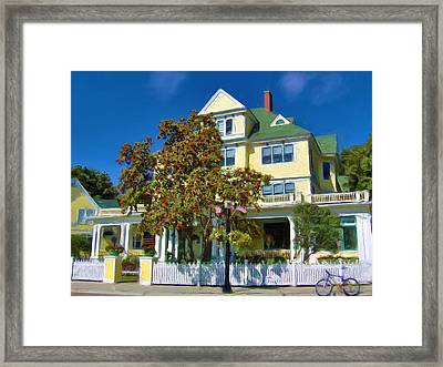 July At The Windemere Framed Print