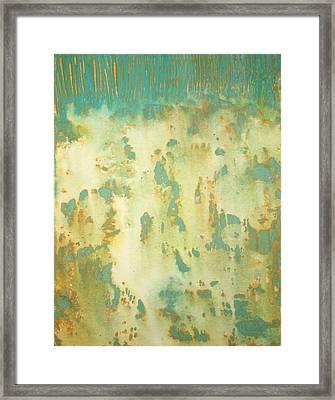 July Framed Print by Natalie Starnes
