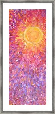 July Wind Framed Print