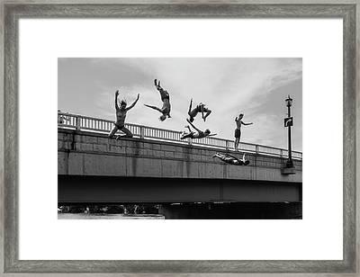 Jump #2 Framed Print