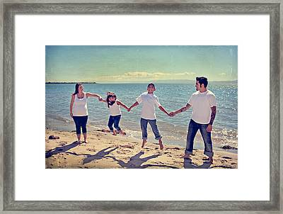Jump For Joy Framed Print by Laurie Search