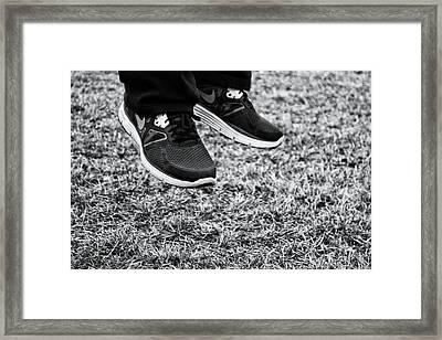Jump... Framed Print by Nick  Lawton