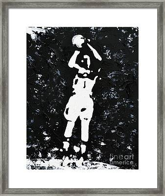 Jump Shot Framed Print
