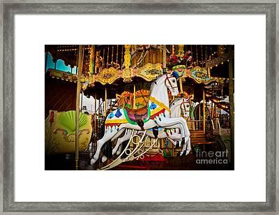Jumper Framed Print by Colleen Kammerer