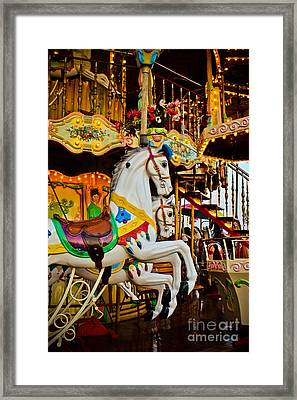Jumpers -carousels Framed Print