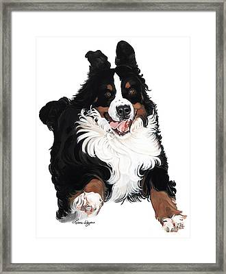 Jumpin Jack Flash Framed Print by Liane Weyers