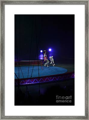 Jumprope With Fido Framed Print