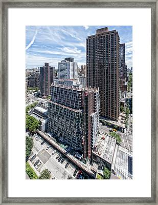 Jun2014rearabovesw Framed Print