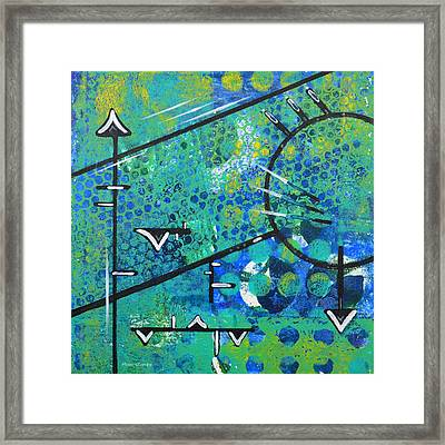 Juncture Framed Print by Moon Stumpp