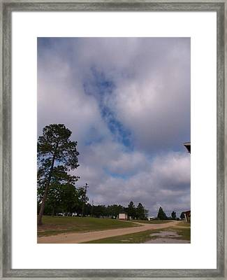 Sunday Morning Worship Framed Print