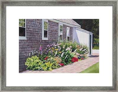 Framed Print featuring the painting June Burst by Karol Wyckoff