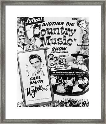 June Carter Cash Framed Print by Silver Screen