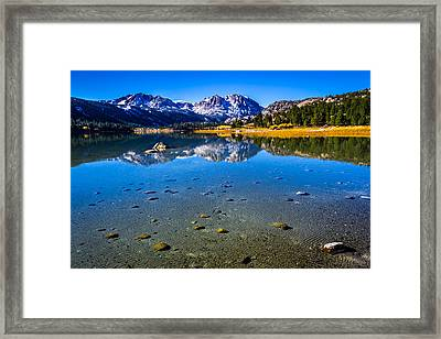 June Lake California Framed Print by Scott McGuire