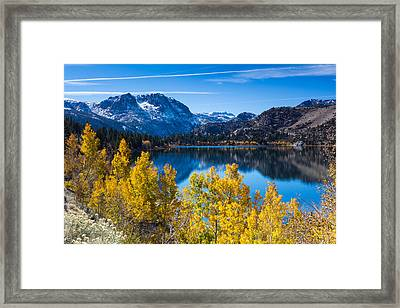 June Lake Framed Print