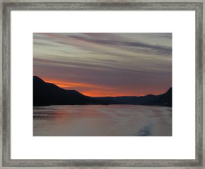 Juneau Alaska Framed Print by Jennifer Wheatley Wolf