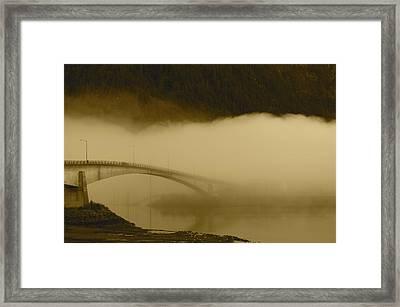 Juneau - Douglas Bridge Framed Print