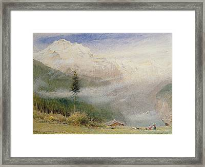 Jungfrau, 1913 Framed Print by Albert Goodwin