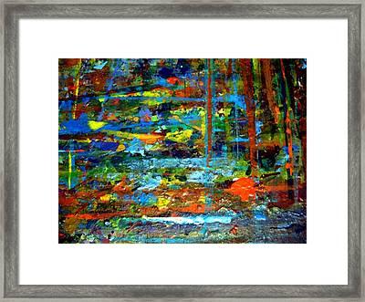 Jungle Boogie 130308-3 Framed Print by Aquira Kusume