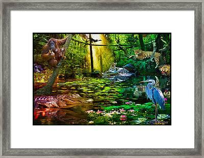 Jungle Dream 2 Framed Print