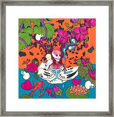 Framed Print featuring the digital art Jungle Fever 5 by Stephanie Grant