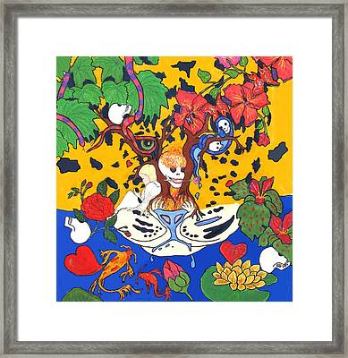 Framed Print featuring the painting Jungle Fever by Stephanie Grant