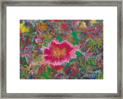 Jungle Flower Framed Print