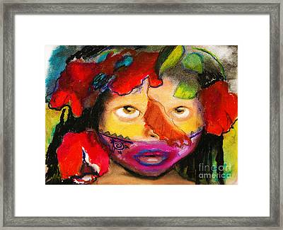 Jungle Girl Framed Print