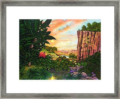 Jungle Harmony I Framed Print