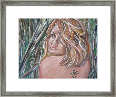 Jungle Nymph Framed Print