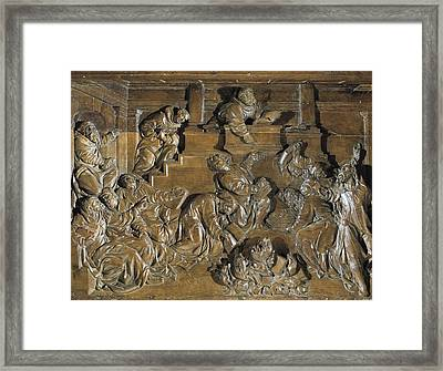 Juni, Juan De 1507-1577. Disputes Framed Print by Everett