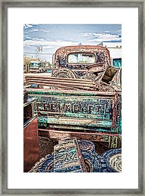 Junk Or Treasure Framed Print