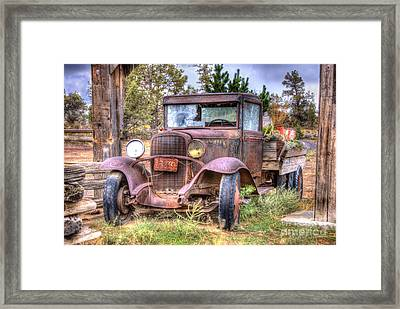 Junk Yard Special Framed Print by Juli Scalzi