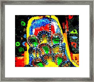 Junkanoo 1 Framed Print by Ron Kandt