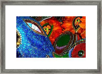 Junkanoo 4 Framed Print by Ron Kandt