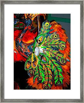 Junkanoo 5 Framed Print by Ron Kandt