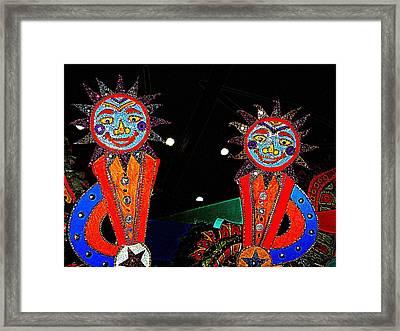 Junkanoo 6 Framed Print by Ron Kandt