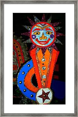 Junkanoo 7 Framed Print by Ron Kandt