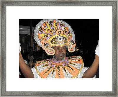 Junkanoo Delight Framed Print by G Johnson