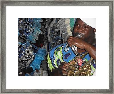 Junkanoo Sounds Framed Print by G Johnson