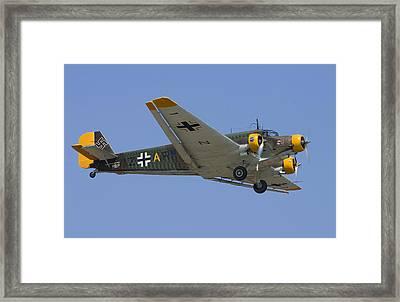 Junkers Ju-52 Framed Print