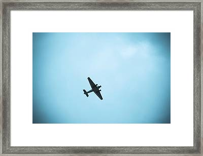 Junkers Ju 52 Aircraft Flying Framed Print
