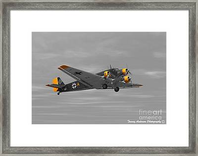 Junkers Ju 52 Framed Print by Tommy Anderson